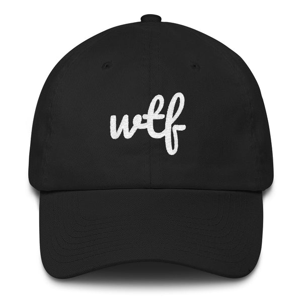 """With the Family"" Cotton Dad Cap"