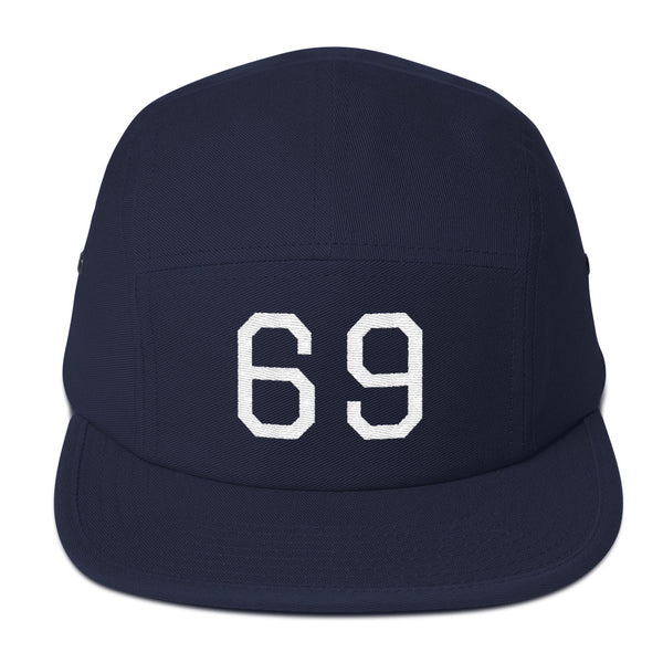"""Sixty Nine"" Vintage Baseball 5 Panel Camper"