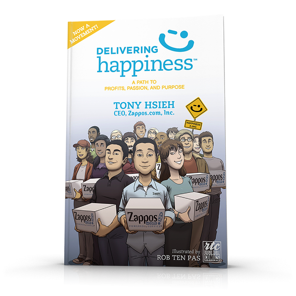 Delivering Happiness Comic