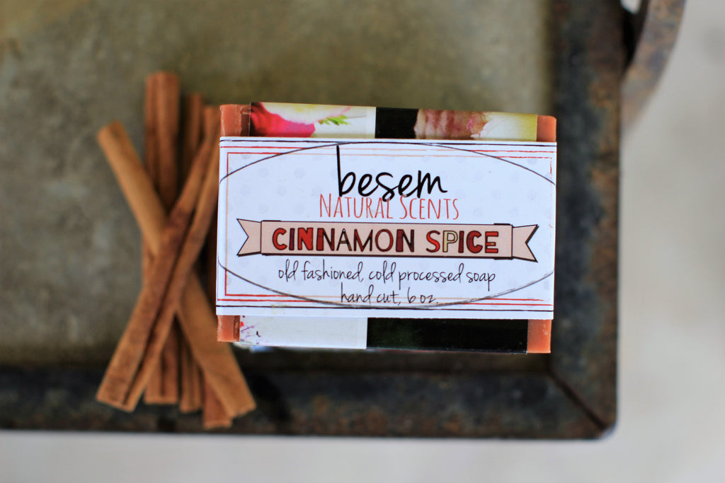 Cinnamon Spice // palm free soap, cold process soap, artisan, natural, essential oil, kitchen soap