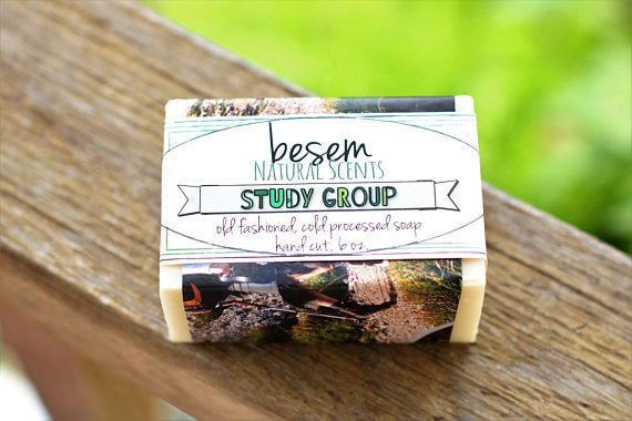 Rosemary Mint Soap // Study Group, cool, invigorating, cold process soap