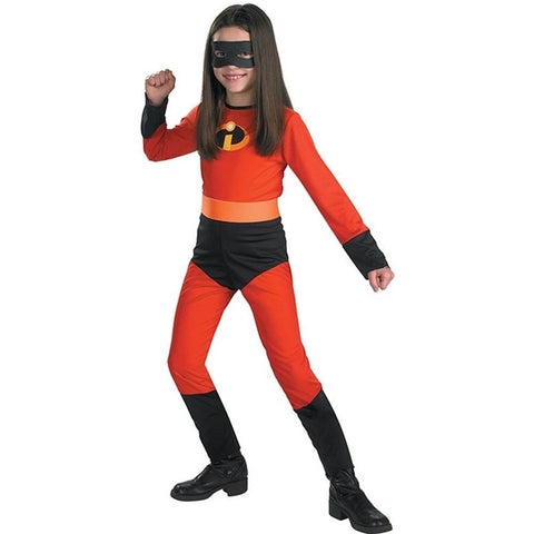 Disguise The Incredibles Disney Girls Classic Costume - Violet - Top to Bottom Childrens Store
