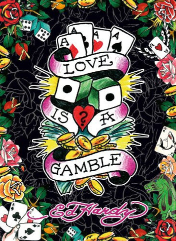 Ravensburger Original Love is a Gamble Don Ed Hardy Designs - 500 Piece puzzle - Top to Bottom Childrens Store