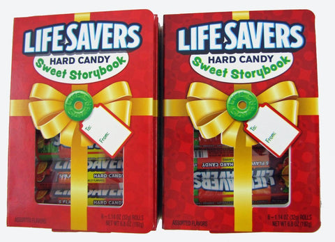 LifeSavers Hard Candy Sweet Story Book, Five Flavor 6 ea (pack of 2)