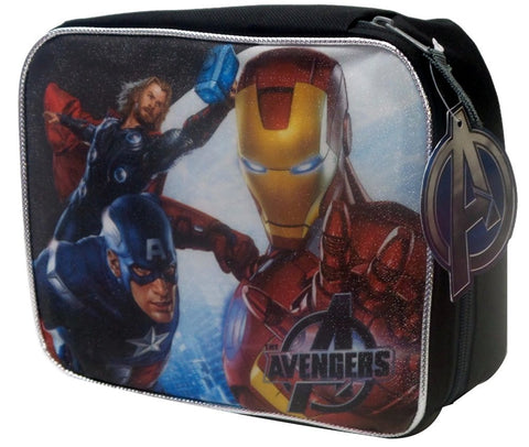 Marvel Avengers Captain America, Thor, & Ironman Boys Lunch Box - Top to Bottom Childrens Store