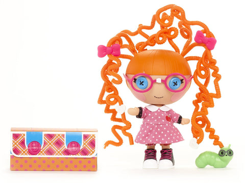 Lalaloopsy Littles Silly Hair Doll, Specs Reads-A-Lot - Top to Bottom Childrens Store