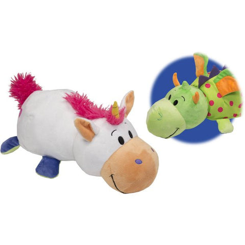 FLIP A ZOO - Unicorn and Dragon 2-in-1 Stuffed Animal 16-inch FLIPAZOO - Top to Bottom Childrens Store