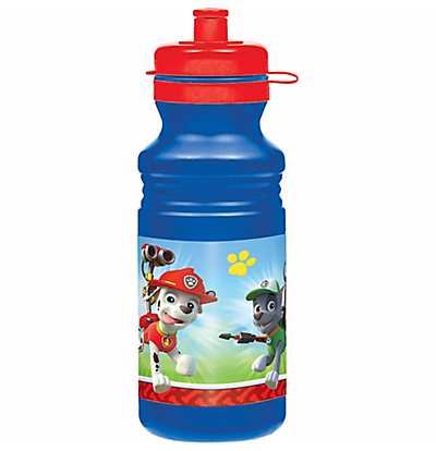 Favorite Character Life of Pets, TMNT, Avengers or Paw Patrol Water Bottle 18 ounce - Top to Bottom Childrens Store