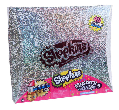 Shopkins Black Box Mystery Edition Figures 40 Pieces Limited Edition Set