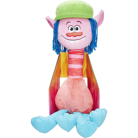 "Dreamworks Trolls Large Hug n Plush 24"" Cooper Doll Ages 4+ - Top to Bottom Childrens Store"