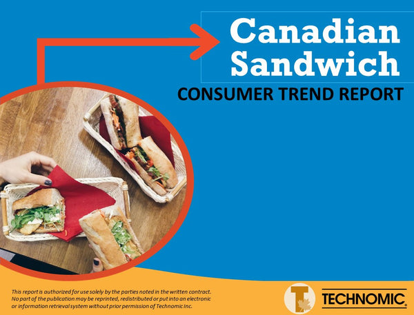 2016 Canadian Sandwich Consumer Trend Report