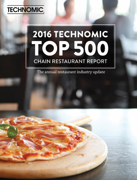 2016 Top 500 Chain Restaurant Report