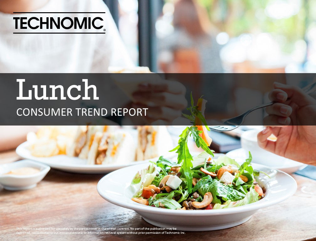 2016 Lunch Consumer Trend Report