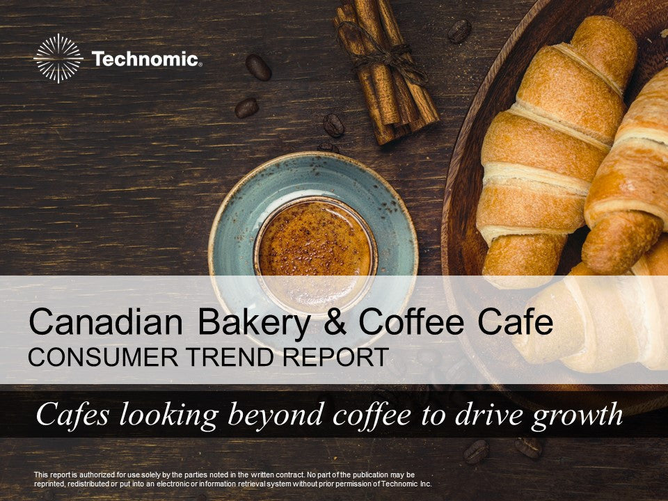 2017 Canadian Bakery & Coffee Café Consumer Trend Report