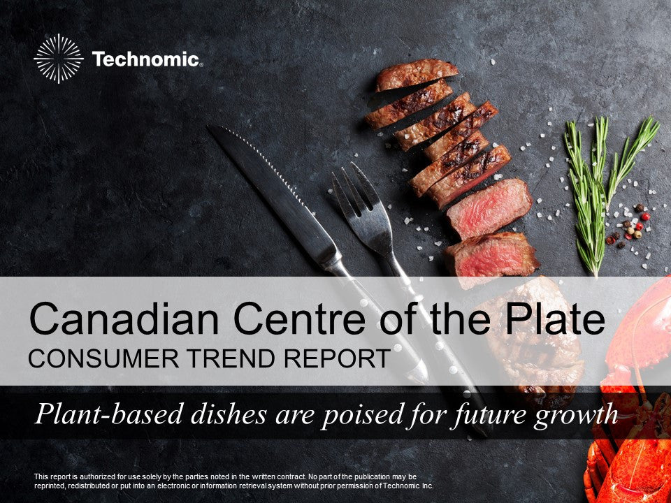 2017 Canadian Centre of the Plate Consumer Trend Report