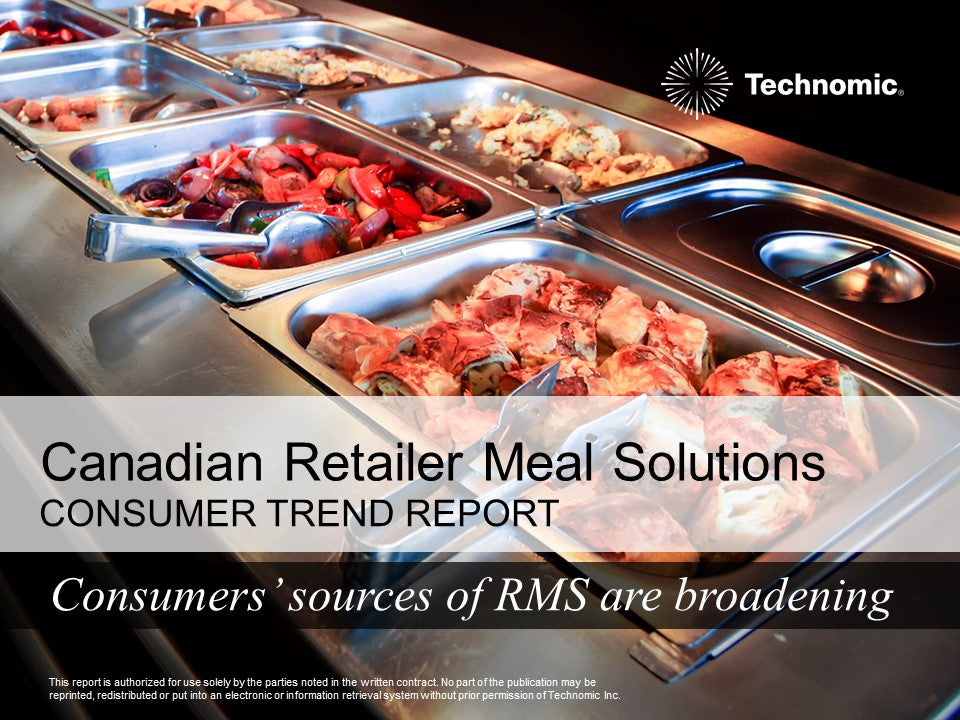 2017 Canadian Retail Meal Solutions Consumer Trend Report