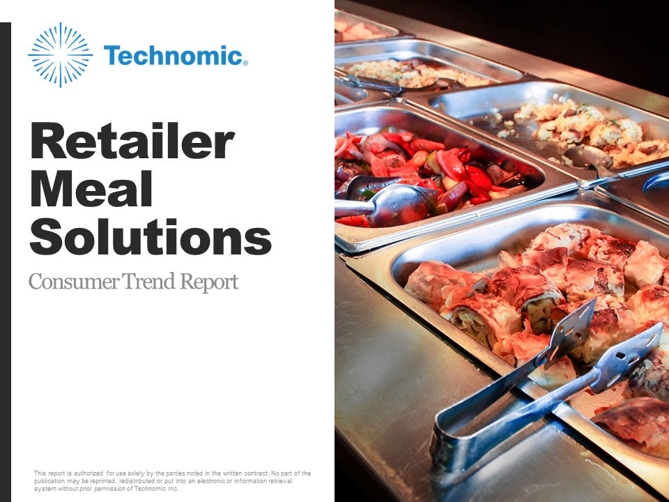 2017 Retailer Meal Solutions Consumer Trend Report
