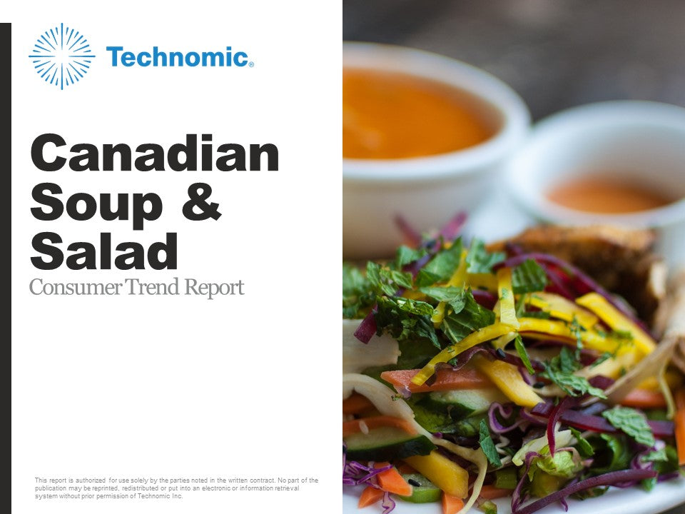 2018 Canadian Soup & Salad Consumer Trend Report