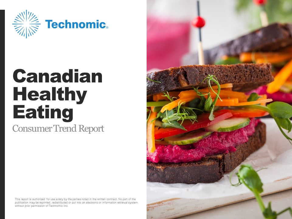 2018 Canadian Healthy Eating Consumer Trend Report