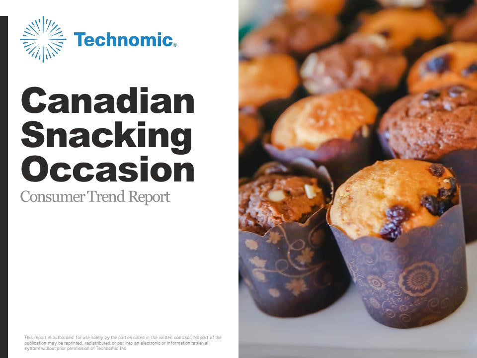 2018 Canadian Snacking Occasion Consumer Trend Report