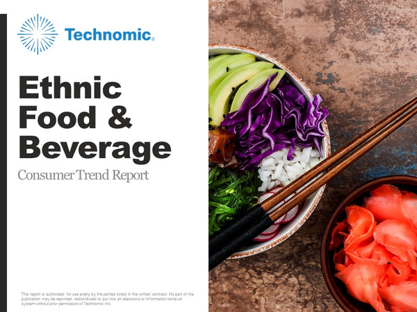 2018 Ethnic Food & Beverage Consumer Trend Report