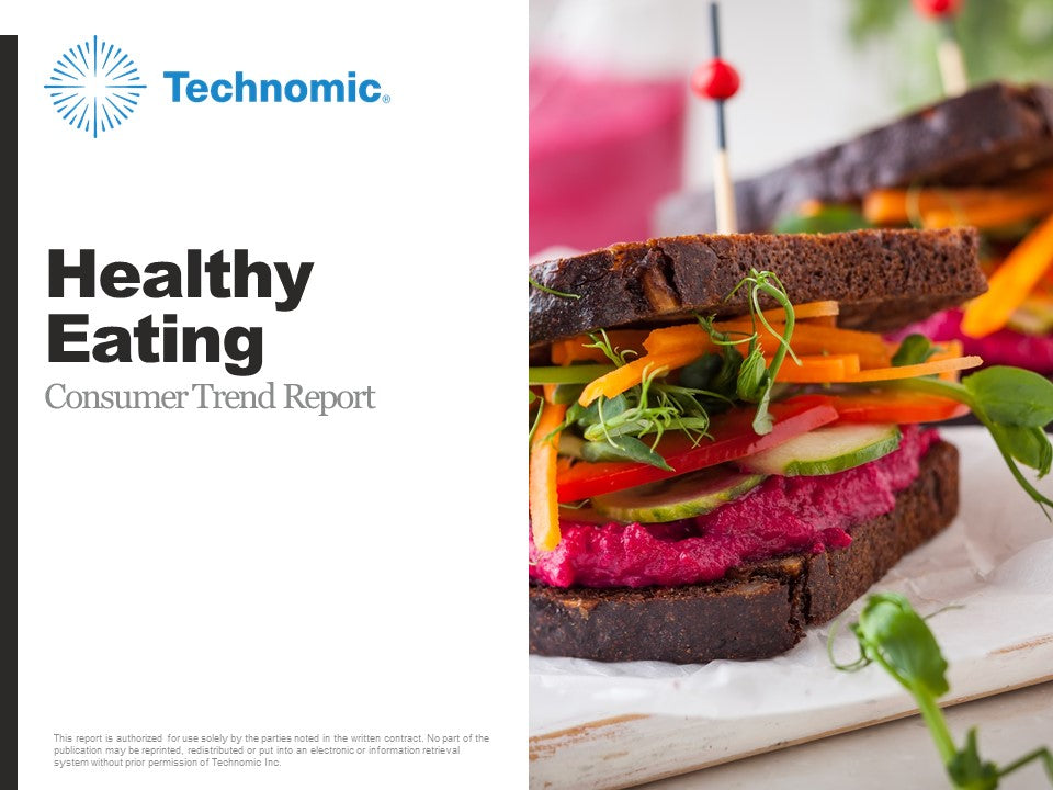2018 Healthy Eating Consumer Trend Report