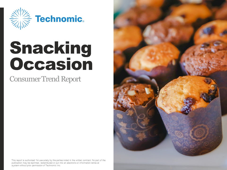 2018 Snacking Occasion Consumer Trend Report