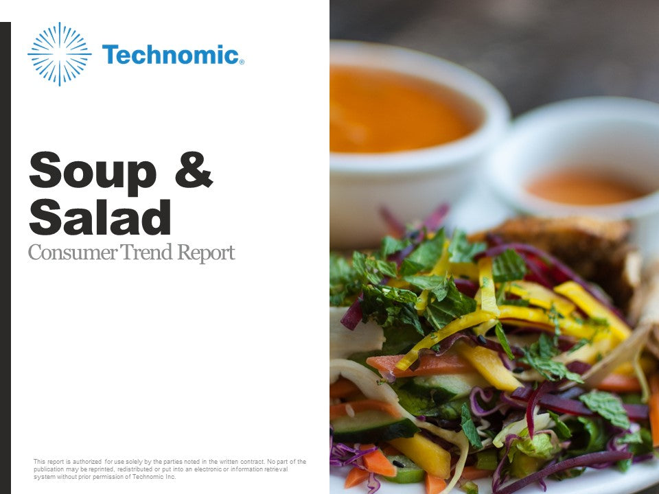 2018 Soup & Salad Consumer Trend Report