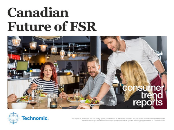2019 Canadian Future of FSR Consumer Trend Report
