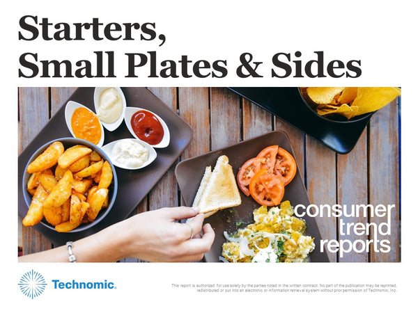Starters, Small Plates & Sides Consumer Trend Report