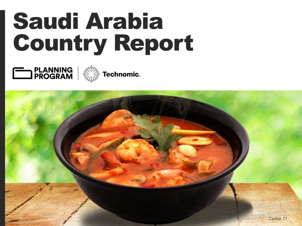 2018 Saudi Arabia Country Report