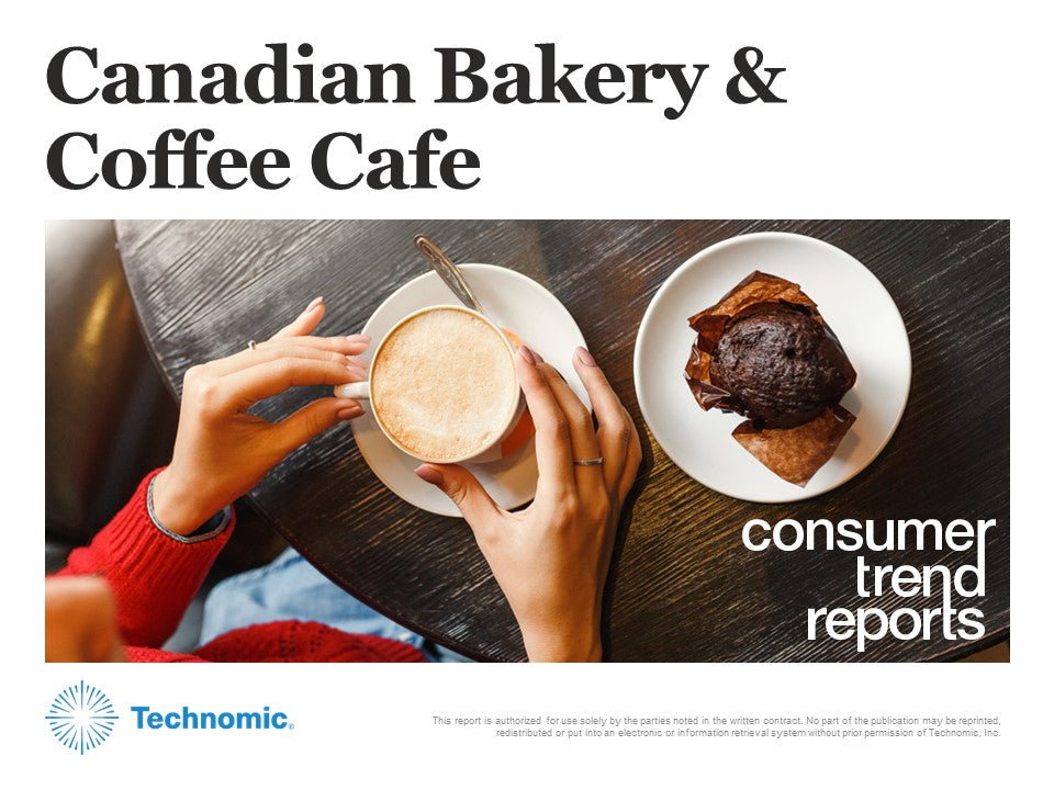 Canadian Bakery & Coffee Café Consumer Trend Report