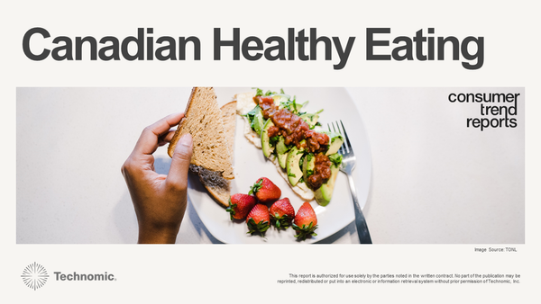 Canadian Healthy Eating Consumer Trend Report