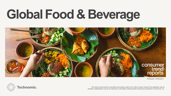 Global Food and Beverage Consumer Trend Report