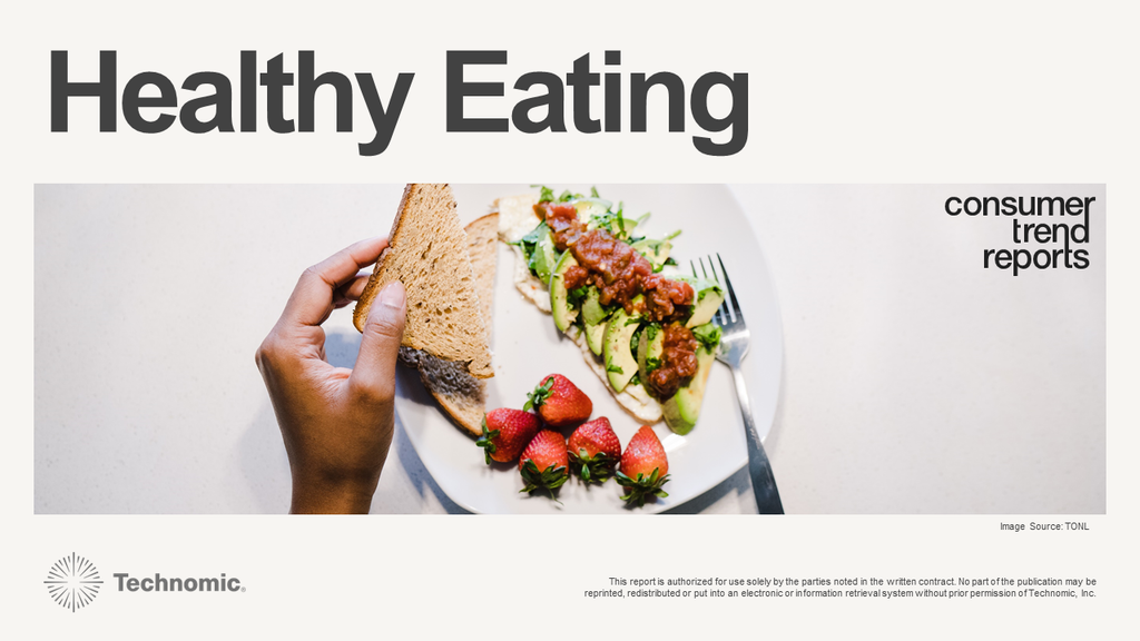 Healthy Eating Consumer Trend Report