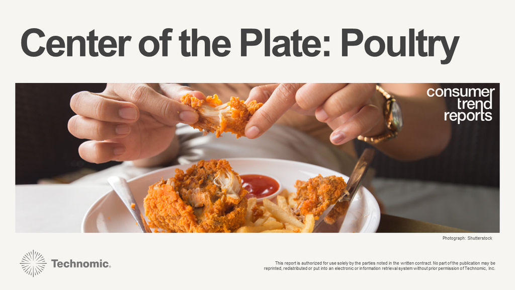 Center of the Plate: Poultry Consumer Trend Report