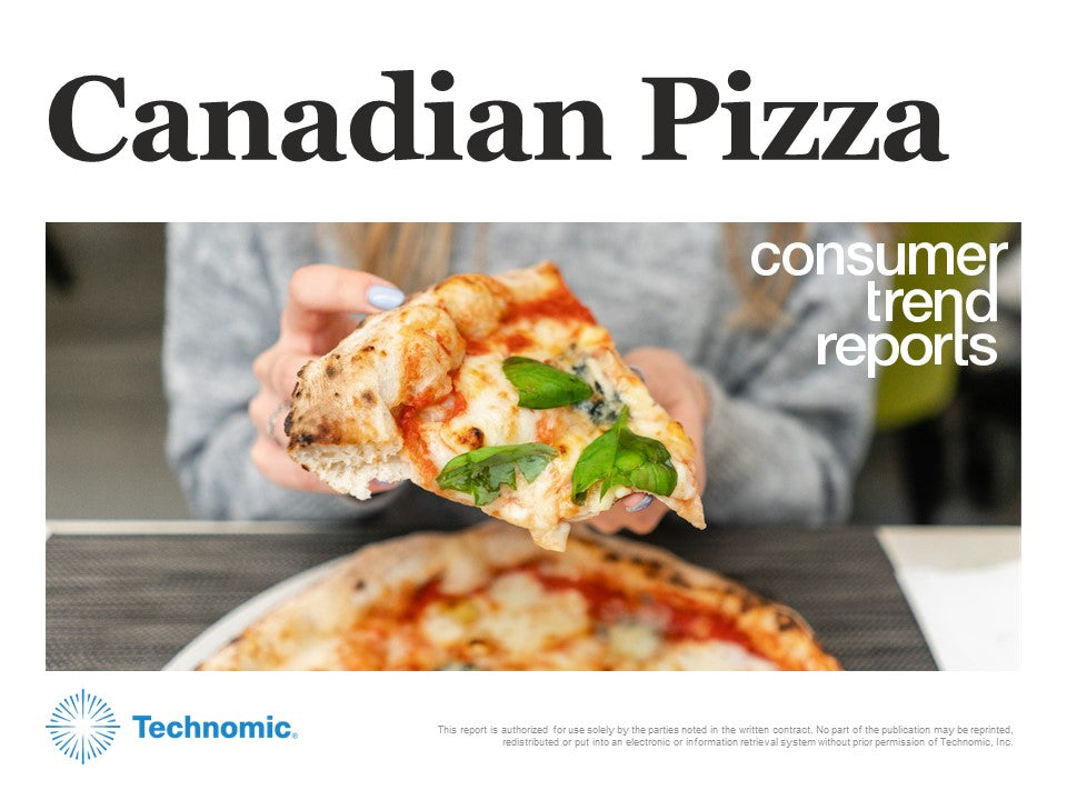 Canadian Pizza Consumer Trend Report