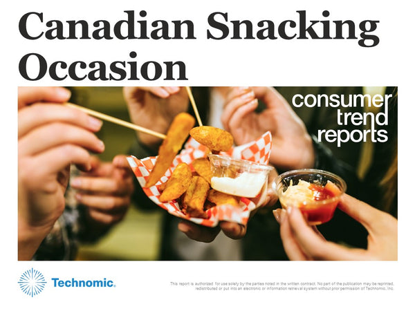Canadian Snacking Occasion Consumer Trend Report