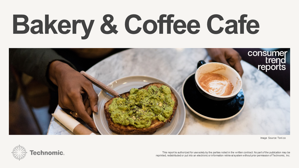 Bakery & Coffee Cafe Consumer Trend Report