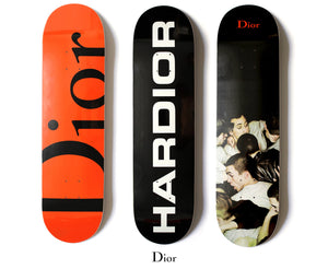 Dan Witz for Dior Homme Skateboard