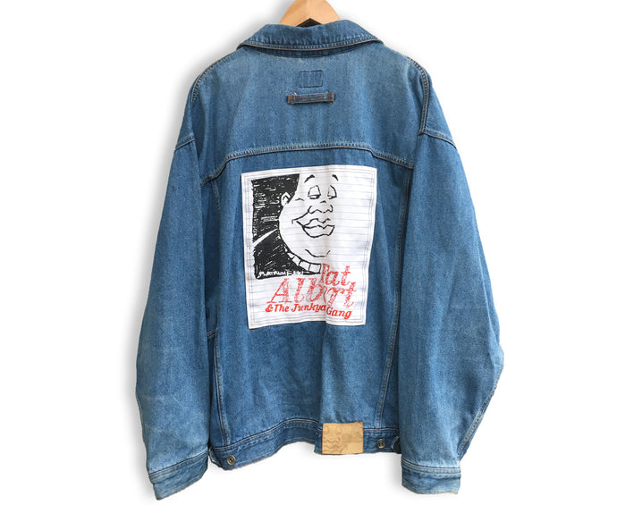 Vintage Fubu Fat Albert Denim Jacket