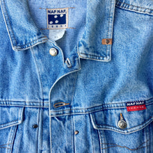 Load image into Gallery viewer, Vintage Naf Naf Denim Jacket