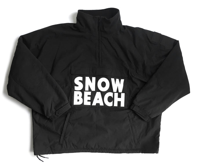 Polo Ralph Lauren Snow Beach Black Pullover Jacket