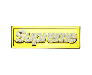 "Supreme ""Bling"" Box Logo sticker"