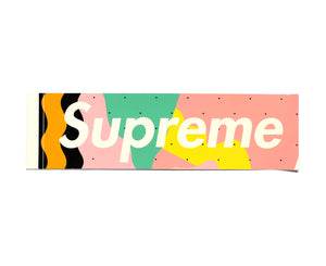 "Supreme ""Mendini"" Box Logo sticker"