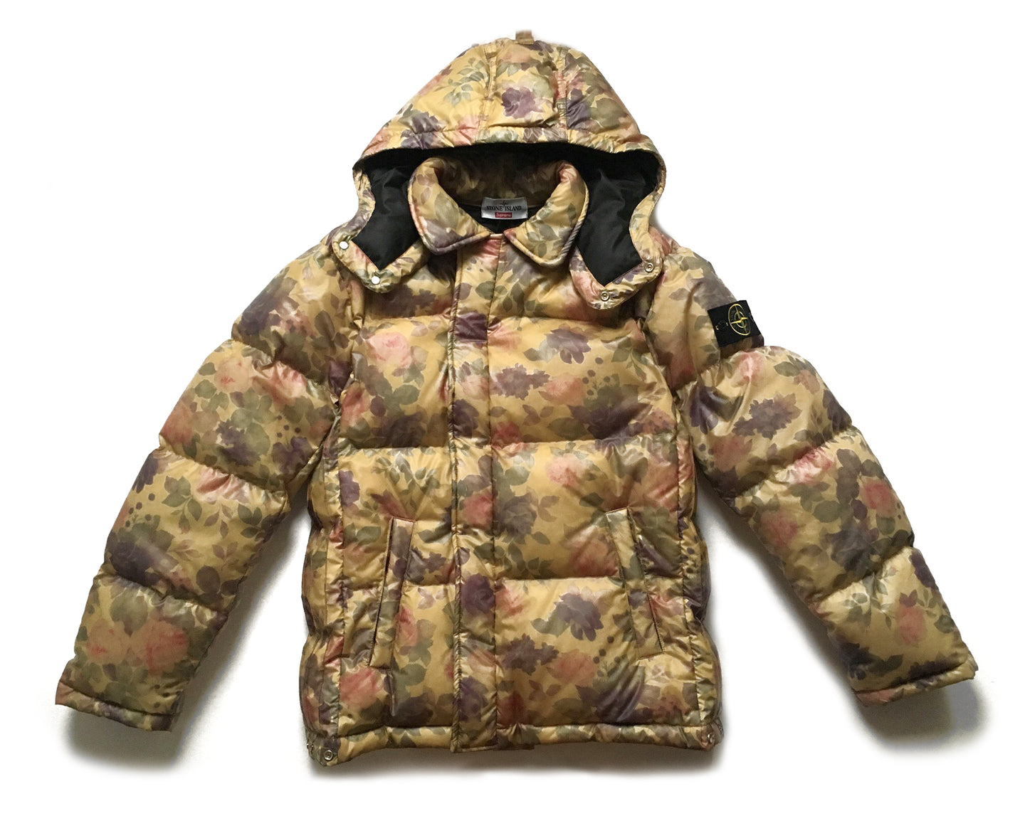 Supreme Stone Island Lamy Cover Stampato Puffy Jacket