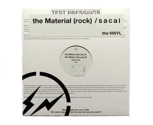 "Sacai / Fragment Design Vinyl ""The Material Rock"""