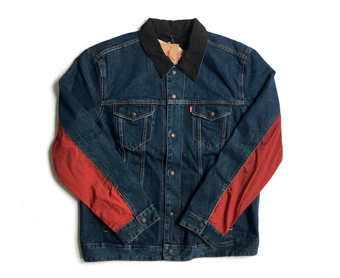 Jordan x Levi's Reversible Denim Trucker Jacket
