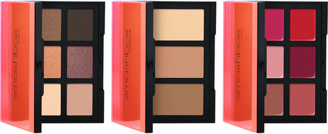 Smashbox Light It Up 3 Palette Set: Eyes Contour Lips
