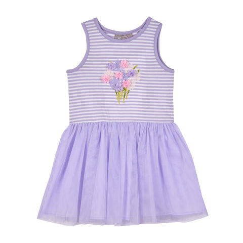 Tammy Purple Tutu Dress